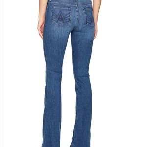 "7 For All Mankind ""A"" pocket size 25"